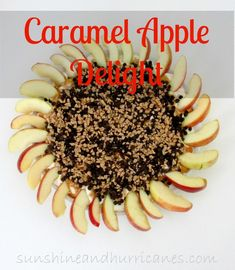 Caramel Apple Delight Quick Easy Desserts, Delicious Desserts, Yummy Treats, Yummy Recipes, Dessert Recipes, Mini Caramel Apples, Apple Caramel, Potluck Dinner, Pineapple Recipes