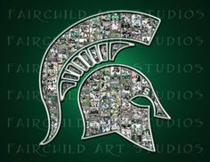 Spartan picture collage