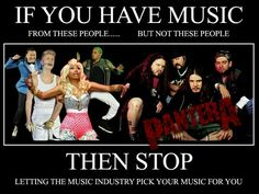 Fan of metal music? Tired of certain artists being inducted in the Rock and Roll Hall of Fame over others? Here's my take on the whole issue of metal artists being snubbed. Music For You, Your Music, Heavy Metal Music, Music Memes, People Laughing, Metalhead, Music Industry, The Rock, Music Artists