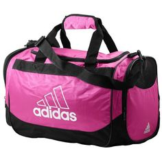 adidas Defender Duffle Small - Casual - Accessories - Intense Pink/White