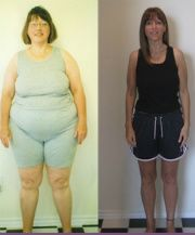 Weight loss blog. She lost 120 lbs and she's in her 40s!