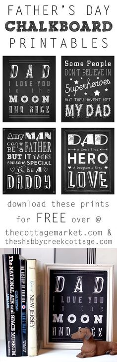 Father's Day Craft Ideas Make it simple. This Father's Day Chalkboard Printable is cute and can be personalized to your father and Father's Day Craft Ideas on Frugal Coupon Living. Fathers Day Art, Fathers Day Crafts, Happy Fathers Day, Quotes About Fathers Day, Fathers Day Ideas, Fathers Gifts, Mother And Father, You Are The Father, Mothers