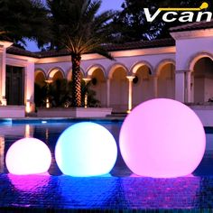 (165.00$)  Watch here - http://ai9b3.worlditems.win/all/product.php?id=2050275159 - 30cm Floating LED Pool Glow Light Orb Ball Outdoor or indoor lithium battery  Living Garden Light Decor