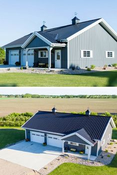 Amazing metal building homes!