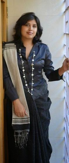chandana banerjee: 7 Sari Blouses for that Casual/Chic/Smart Look