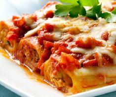 Klasszikus cannelloni Recept képpel - Mindmegette.hu - Receptek Moussaka, Mozzarella, Sauce Tomate, Coleslaw, Empanadas, Quinoa, Pesto, Lemon, Cooking