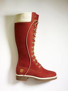 Women's 14 inch custom #timberland boot.