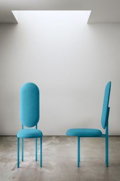 The Re-imagined Original Chair (Tall). A huge success at the London Design Festival in 2012, the Re-imagined Chair series is created from chair frames discovered around Danish-born designer Nina Tolstrup's East London home.