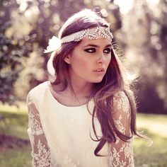 Inspired Brides - peek at 2013's hottest wedding trends. Loving the hippie bride / bohemian bride looks!
