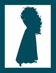 Merida Silhouette | Merida silhouette...to print out