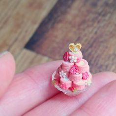 Miniature pastries ♡ ♡  By chipchip