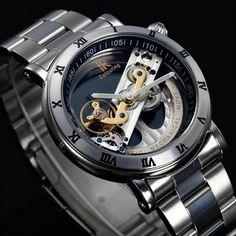 Original Tourbillon Mechanical Wrist watches men luxury brand business skeleton automatic men self wind Top brand relojes new  #me #men #followme #sexyshoes #bags #women #wallets #belts #sunshades #smartwatch #groom #photooftheday #selfie #bride #mensfashion