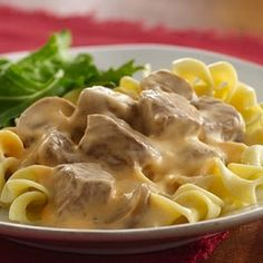 Beef Stroganoff in Slow Cooker Recipe