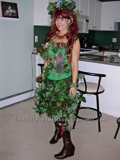 Sexy Mother Nature Costume... 2014 Homemade Costume Contest