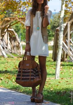 Bag: boho aztec white dress dress