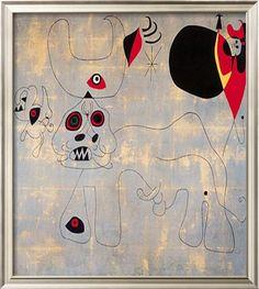 Joan Miro Masterpiece   Stierkampf By Joan Miro [AJG 30315] - $95.00 : Jacky Gallery, Oil ...