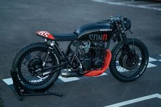 Styling ideas. Coloured accents done beautifully.  © National Custom Tech Motorcycles, Inh. David Widmann