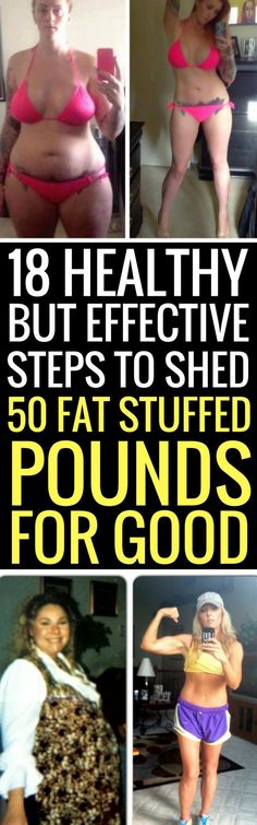 18 healthy ways to lose weight quickly and permanently.