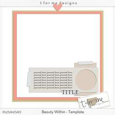 Template freebie from t for me designs #scrapbook #digiscrap #scrapbooking #digifree #scrap