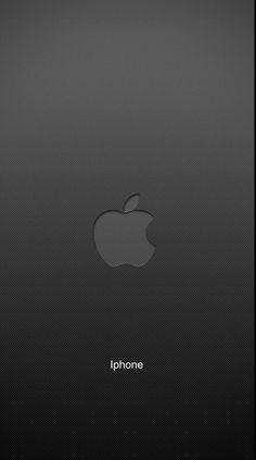 Iphone Wallpaper Logo, Boss Wallpaper, Apple Wallpaper, Iphone Wallpapers, Pretty Wallpapers, Black Backgrounds, Ios, Color, Mobile Wallpaper
