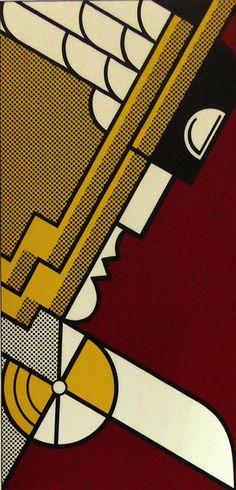 Roy Lichtenstein, 'Salute to Aviation,' 1968, Gilden's Art Gallery