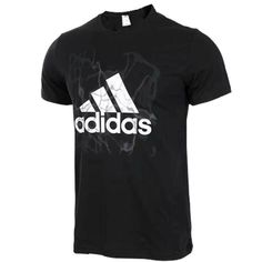Spring Summer 2018 Real Adidas Clothing UK XS-XL Fashion Short Sleeve  T-Shirt Black 2c5cf04288c