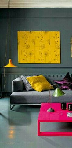 Yellow Home Decor, Love Seat, Charlotte, Lounge, Couch, Painting, Furniture, Art, Chair