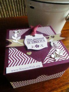 Kerstin's KreativWelt: Blog-Hop zum Thema Frühling/ Ostern Wow-Box mit tollem Falteffekt #Frühling #Ostern #Kreativ #StampinUp #StampinArtTeam #Origami