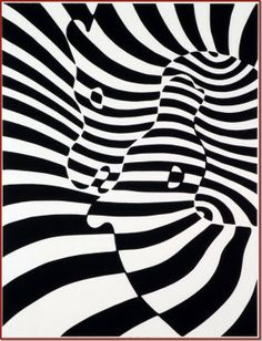 Victor Vasarely - Zebra 2