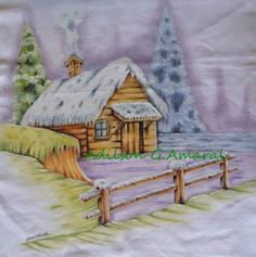 * Life art: painting on fabric