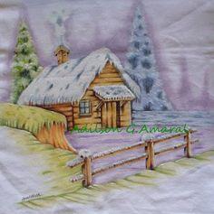 * Life art: painting on fabric