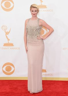 Model Ireland Baldwin arrives at the 65th Annual Primetime Emmy Awards held at Nokia Theatre L.A. Live on September 22, 2013 in Los Angeles,...