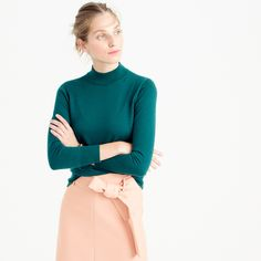 Tippi mockneck sweater : sweaters | J.Crew