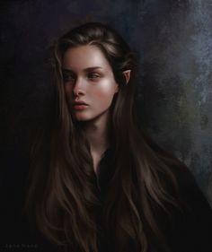 Fantasy Girl, Fantasy Art Women, Character Portraits, Character Art, Character Concept, Fantasy Characters, Female Characters, Elfen Fantasy, Elf Art