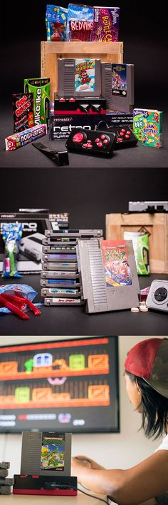 Retro Gamer dads will love the Retro Gamer Crate from ManCrates