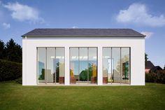 Wienerberger reference: Kunst in Weidingen, Germany by Axt Architekten. Photograph by Chibi Moku