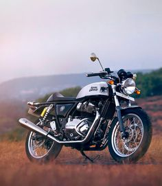 Royal Enfield Continental GT 650 out in the wild