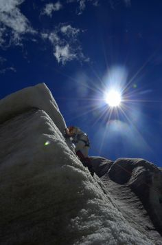 My unfinished business climbing Huayna Potosi in Bolivia- 60088 m .One day I will be back :)