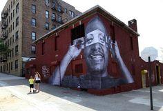 French artist JR - New York Street Art