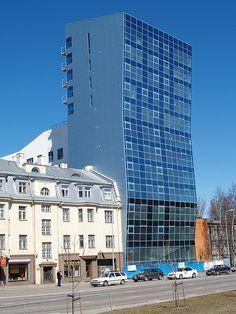 Old and new. Tallinn Estonia
