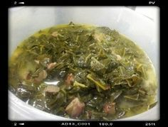Collard Greens in Crock Pot Click Slow Cooker Recipes, Crockpot Recipes, Cooking Recipes, Healthy Recipes, Crockpot Dishes, Yummy Recipes, Veggie Side Dishes, Vegetable Dishes, Natural Diet Pills