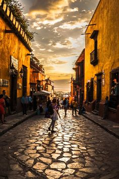 San Miguel de Allende, Mexico. Magic place.
