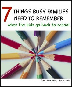 Fun ways to stay connected during the school year
