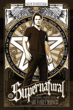 Supernatural Poster Set by Ryan Huddle