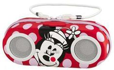 Kiddesigns Minnie Mouse iPod MP3 Player Case Portable Stereo Speaker Disney