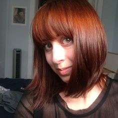 lush henna caca rouge   lush # henna hair dye # magical fucking shit lemme tell ya