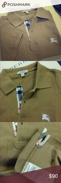 3x burberry shirts