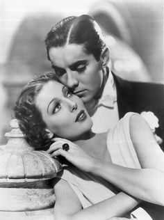 Tyrone Power and Loretta Young.