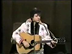 the best impersonation i've ever seen...  he becomes elvis ~  'that's when your heartache begins'