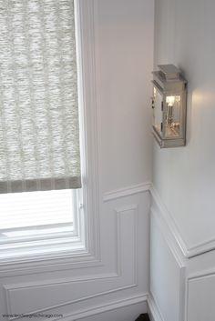Elegant Interior Design by Leo Designs, Ltd. Illinois, Contemporary Home Furniture, Archi Design, Lobby Design, Blinds For Windows, Window Blinds, Window Styles, White Houses, Timeless Elegance
